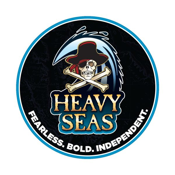 Heavy Seas Sticker