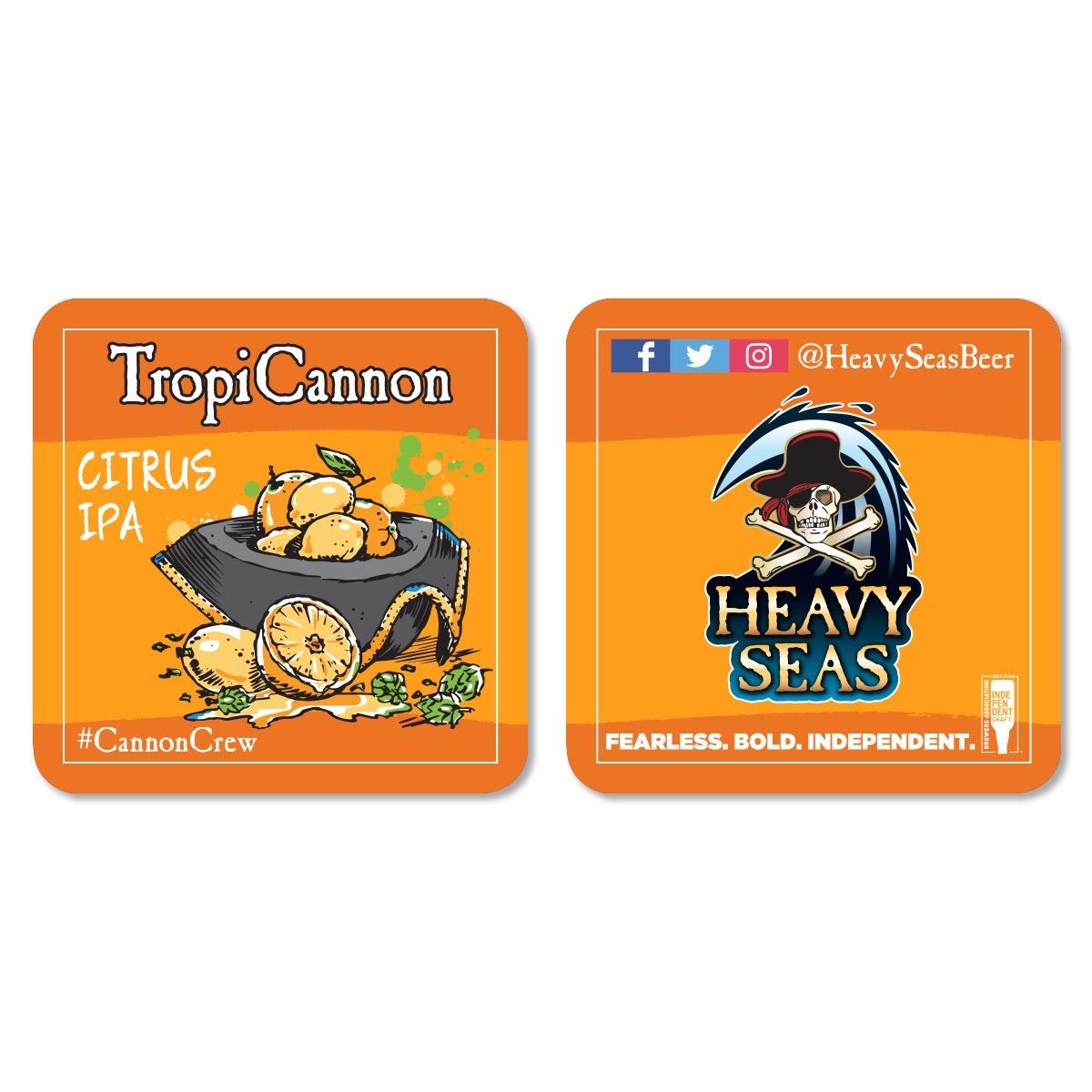 TropiCannon Coaster